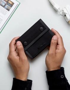 Черный кошелек в стиле милитари Dr Martens - Черный