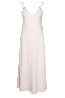 Однотонное платье Mugler