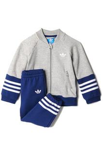 Костюм: спортивные  брюки, толстовка adidas