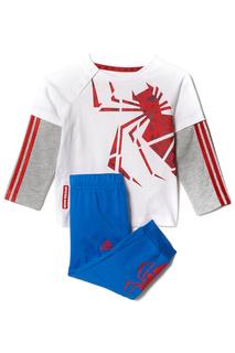 Велюровый костюм спорт. adidas