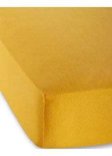Трикотажная натяжная простыня для матраса высотой 40 см (цвет манго) Bonprix