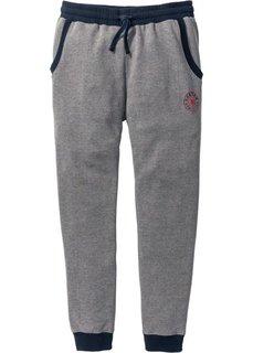 Спортивные брюки (серый меланж) Bonprix