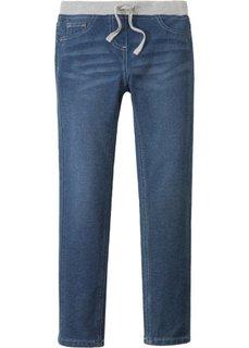 Очень мягкие джинсы с эластичным поясом (синий) Bonprix