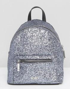 Миниатюрный рюкзак цвета металлик Faith - Серебряный
