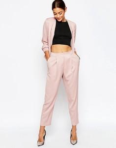 Брюки-галифе ASOS Tailored - Розовый
