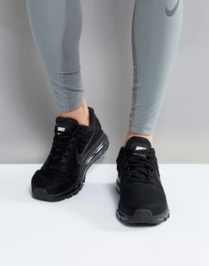 Черные кроссовки Nike Running Air Max 2017 849559-004 - Черный