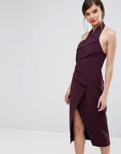 Платье миди C/Meo Collective - Фиолетовый