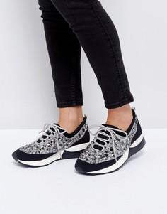 Женские кроссовки с отделкой Dune - Серый