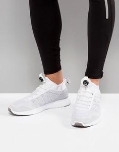 Белые кроссовки Reebok Running Pump Plus BS8561 - Белый