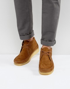 Замшевые ботинки Clarks Originals - Рыжий