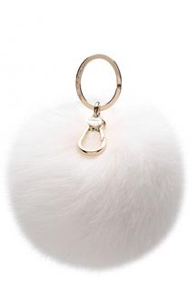Брелок Bubble с мехом Furla