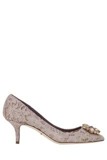 Туфли из кружева Taormina Dolce&;Gabbana