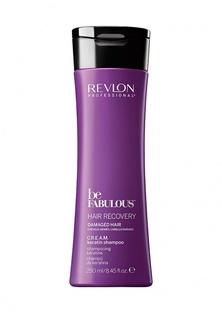 Шампунь Revlon Professional C.R.E.A.M. очищающий с кератином BE FABULOUS 250 мл