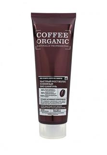 Шампунь Natura Siberica Organic naturally professional для волос Быстрый рост волос кофейный, 250 мл