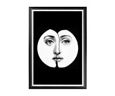 "Арт-постер ""Лина"", версия ""Инь-Янь"" Object Desire"