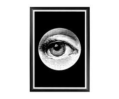 """Арт-постер """"Лина"""", версия """"Монокль"""" Object Desire"""
