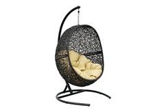 """Кресло подвесное """"Lunar Black"""" Flying Rattan"""