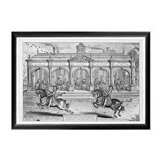 Арт-постер «Новейший метод конного искусства», гравюра 5 Object Desire