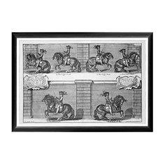 Арт-постер «Новейший метод конного искусства», гравюра 3 Object Desire