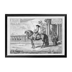 Арт-постер «Новейший метод конного искусства», гравюра 1 Object Desire