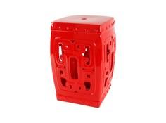 """Керамический столик-табурет """"Oriental Stool Red"""" DG"""
