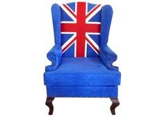"""Каминное кресло """"Union Jack classic"""" DG"""