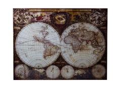 """Панно """"Карта мира"""" Garda Decor"""