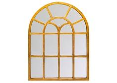 Настенное зеркало кастильон (object desire) золотой 80.5x106.2x2 см.