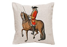 Декоративная подушка «Верховая езда, Урок № 4» Object Desire