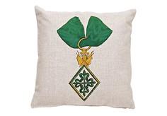 Декоративная подушка «Рыцарский орден Алька́нтара, Испания» Object Desire