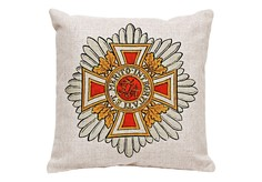 Декоративная подушка «Австрийский Императорский Орден Леопольда» Object Desire