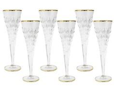 """Набор бокалов для шампанского """"Энигма"""" (6 шт) Same"""