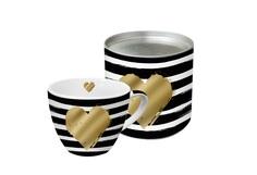 """Кружка в подарочной упаковке """"Heart and Stripes"""" Paperproducts Design"""