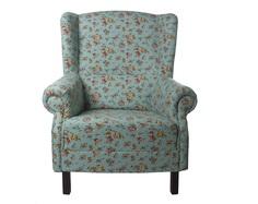 """Кресло с мелким цветочным орнаментом """"Цветы Прованса"""" La Neige"""