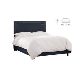 """Кровать """"Aiden Bed"""" с матрасом My Furnish"""