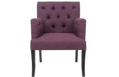 Полукресло zander (mak-interior) фиолетовый 64x89x64 см. L Room