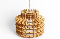 """Деревянный светильник """"Китайский Фонарик"""" Albero"""