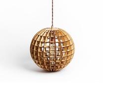 """Деревянный светильник """"Глобус"""" Albero"""
