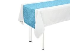 """Дорожка на стол """"Lorret  azure"""" T&Amp;I"""