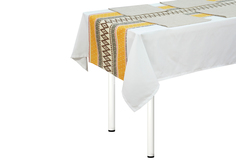 "Комплект ""Girona"" дорожка на стол, салфетки (4 шт) T&Amp;I"