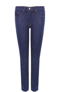 Укороченные однотонные джинсы-скинни Victoria by Victoria Beckham