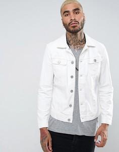 Белая джинсовая куртка AllSaints - Белый