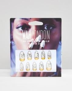 Накладные ногти WAH London - Marblezone - Мульти