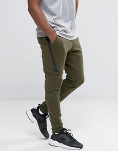 Зеленые флисовые джоггеры Nike 805162-330 - Зеленый