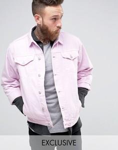 Джинсовая куртка Reclaimed Vintage - Розовый