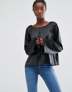 Блузка с расклешенными рукавами Minimum Moves Hiva - Черный