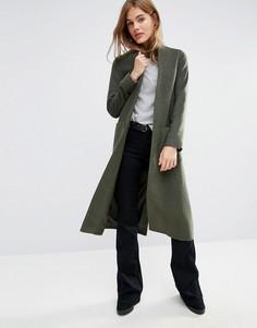 Легкое пальто цвета хаки Helene Berman - Зеленый