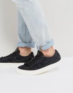 Черные низкие кроссовки Nike Blazer Studio 880872-002 - Черный