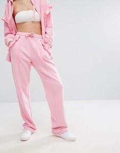 Джоггеры с оборками Lazy Oaf - Розовый