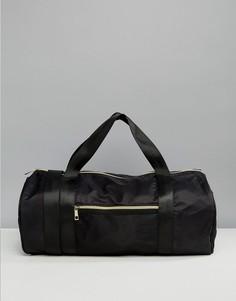Черная спортивная сумка South Beach - Черный